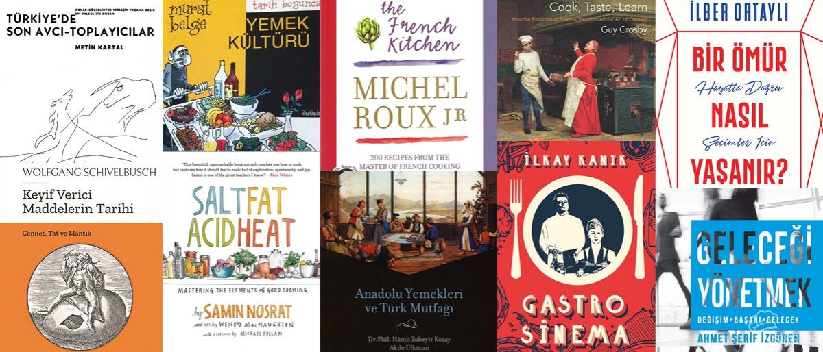 Gastronomi Tutkunlarını Yakından İlgilendirecek 10 Kitap!