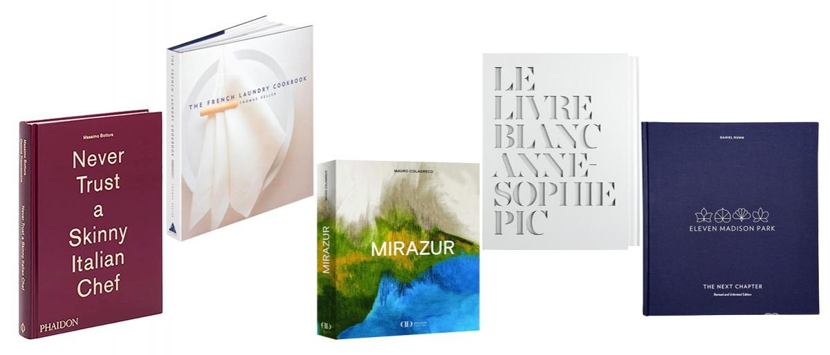 Dünyaca Ünlü Michelin Yıldızlı Şeflerin Yemek Kitapları