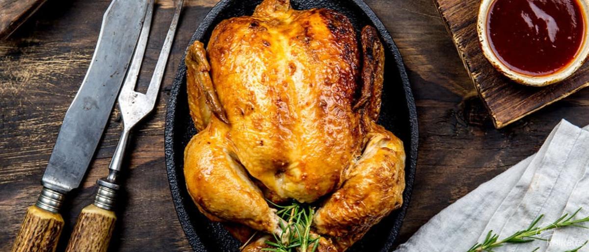 Fırında Bütün Tavuk Nasıl Yapılır?