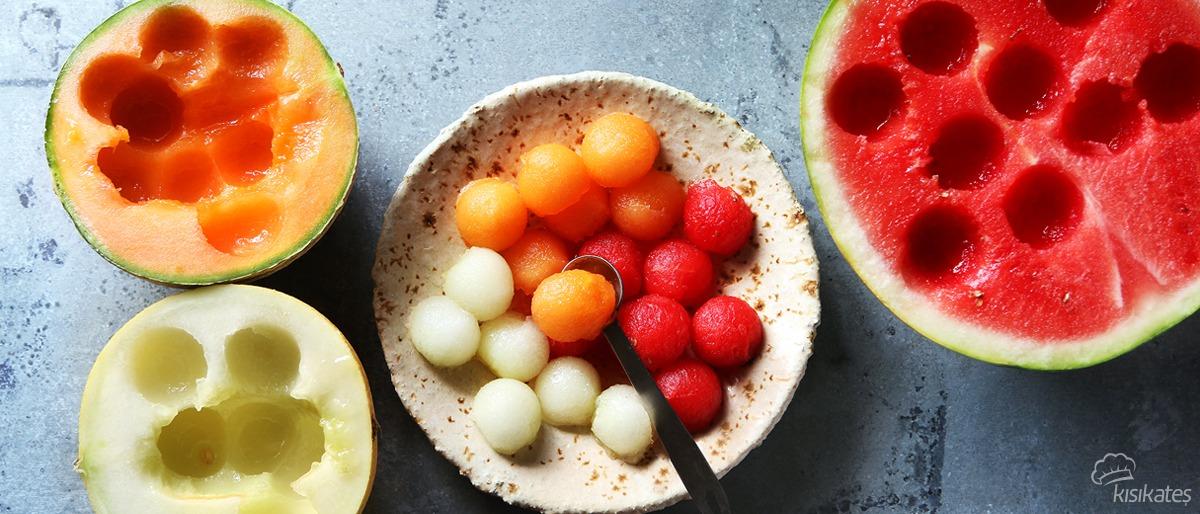 Parizyen Kaşığı İle Meyve Sepeti Hazırlama Önerisi