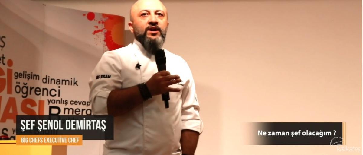 Executive Chef Şenol Demirtaş İle ''Ben Nasıl Şef Olacağım?'' Semineri