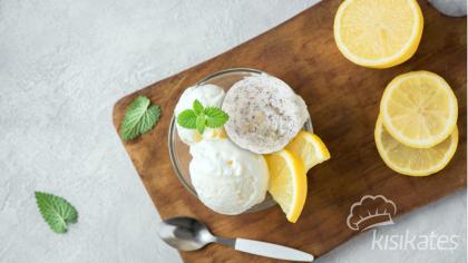 Limonlu ve Kahveli Sorbe