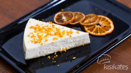 Portakallı ve Ekşi Kremalı Cheesecake