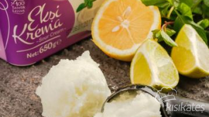 Limonlu Dondurma