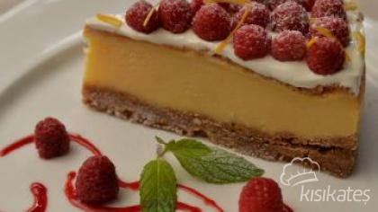 Raspberry ve Limonlu Cheesecake