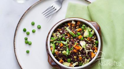 Tahıl ve Sebze Salatası